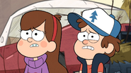 S1e2 dipper and mabel worried