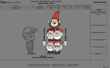 Norman full of gnomes character sheet