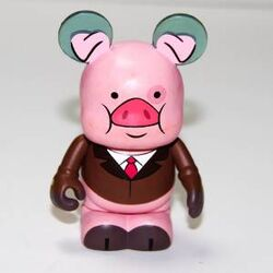 Gravity Falls Vinylmation Business Waddles Variant