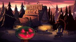 S1e12 Mystery Shack Summerween