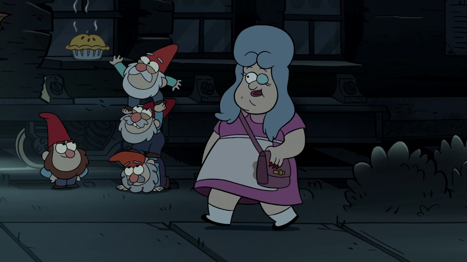image s2e7 gnome stealing pies png gravity falls wiki fandom