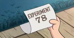 Experimento 78