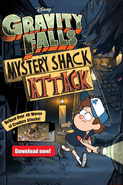 Mystery Shack Attack ad