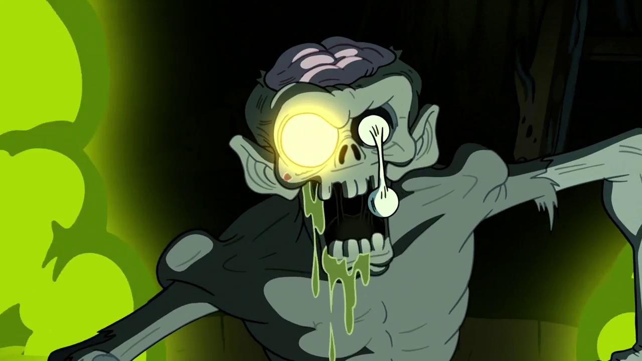 картинки зомби из гравити фолс