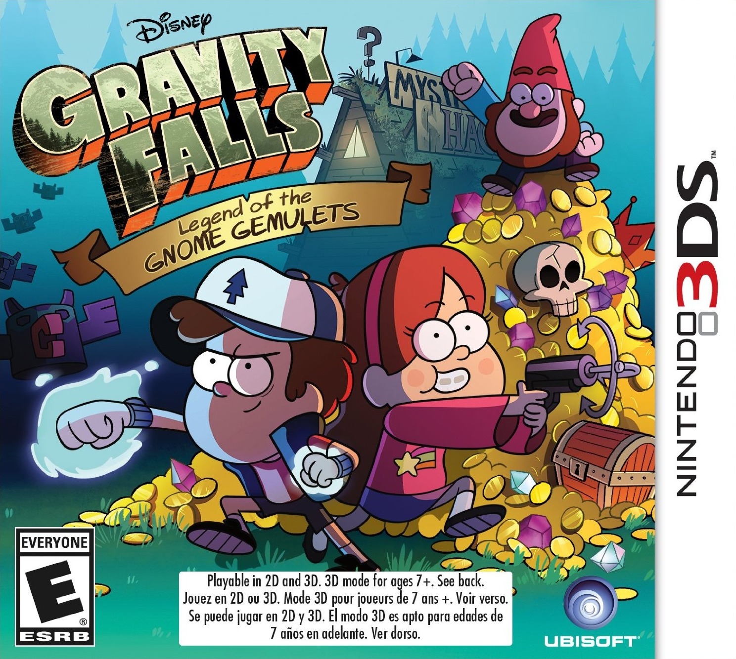 Gravity Falls: Legend of the Gnome Gemulets | Gravity Falls