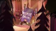 Pilot mystery shack exterior