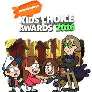 Gravity Falls Kid's Choice Awards 2016