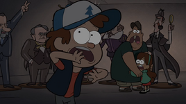 S1e3 dipper soos mabel scared