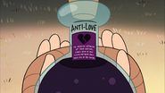 S2e9 antilove label