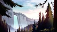Opening waterfall
