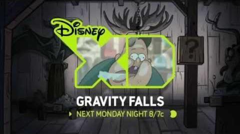 Disney XD Gravity Falls promo