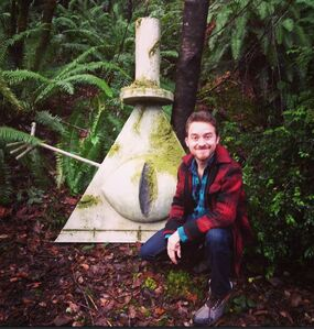 Cipher Hunt Alex Hirsch Bill Cipher Statue