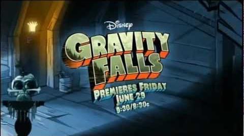 Gravity Falls promo - The Legend of the Gobblewonker