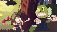 S1e1 grunkle stan scaring dipper