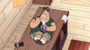 S1e16 Waddles Soos eats tissue