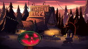 S1E12 Mystery Shack Sommerween