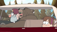 S1e14 The Bear driving away