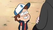 S1e5 dipper nervously smiles