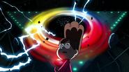Mabel en el portal