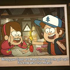 Спустя версии игры было вновь нарисованное изображение.