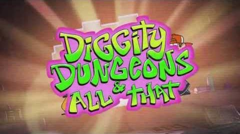 Gravity Falls - Diggity Dungeons & All That
