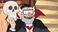 S1e12 Grunkle Stan's Skeleton Mask