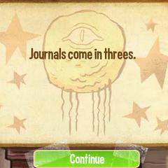 Дневники любят троицу.