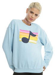 Hottopic MABEL RAINBOW MUSIC NOTE