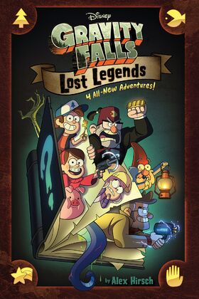 Gravity Falls Lost Legends cover