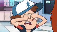 S1e5 dipper rubbing his eyes