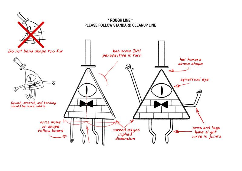 image s1e19 bill model sheet jpg gravity falls wiki fandom