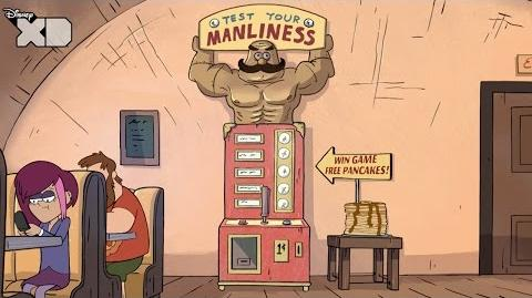 Gravity Falls - The Manliness Tester - Official Disney XD UK HD