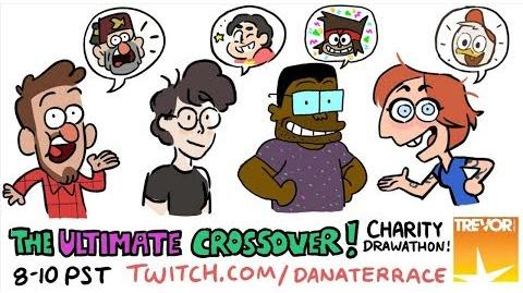 The Ultimate Crossover! Charity Drawathon
