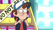 S1e5 dipper is super nervous