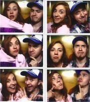 Cast alex ariel photobooth