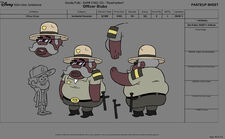 Sheriff blubs character sheet