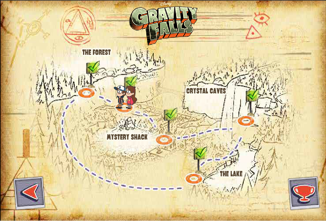 Map Of Gravity Falls seine river map map of islands off the coast