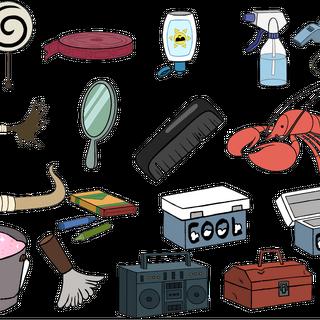Можно использовать различные объекты, встречающиеся в эпизодах