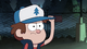 S1e5 Dipper adjusts his cap