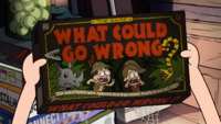S2e15 what could go wrong board game