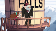 S1e10 mabel and stan on tower