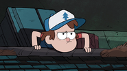 S1e5 dipper going up to the roof 2