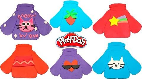 Gravity Falls Mabel's sweaters from Play Doh