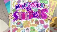 Mabel los guía a los stickers