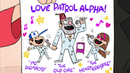 S2e1 love patrol alpha