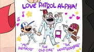 S2e1 love patrol alpha