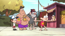 S1e15 familie pines im schwimmbad