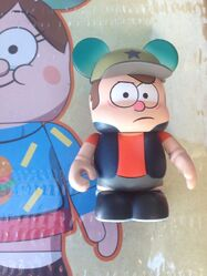 Gravity Falls Vinylmation Angry Dipper Variant