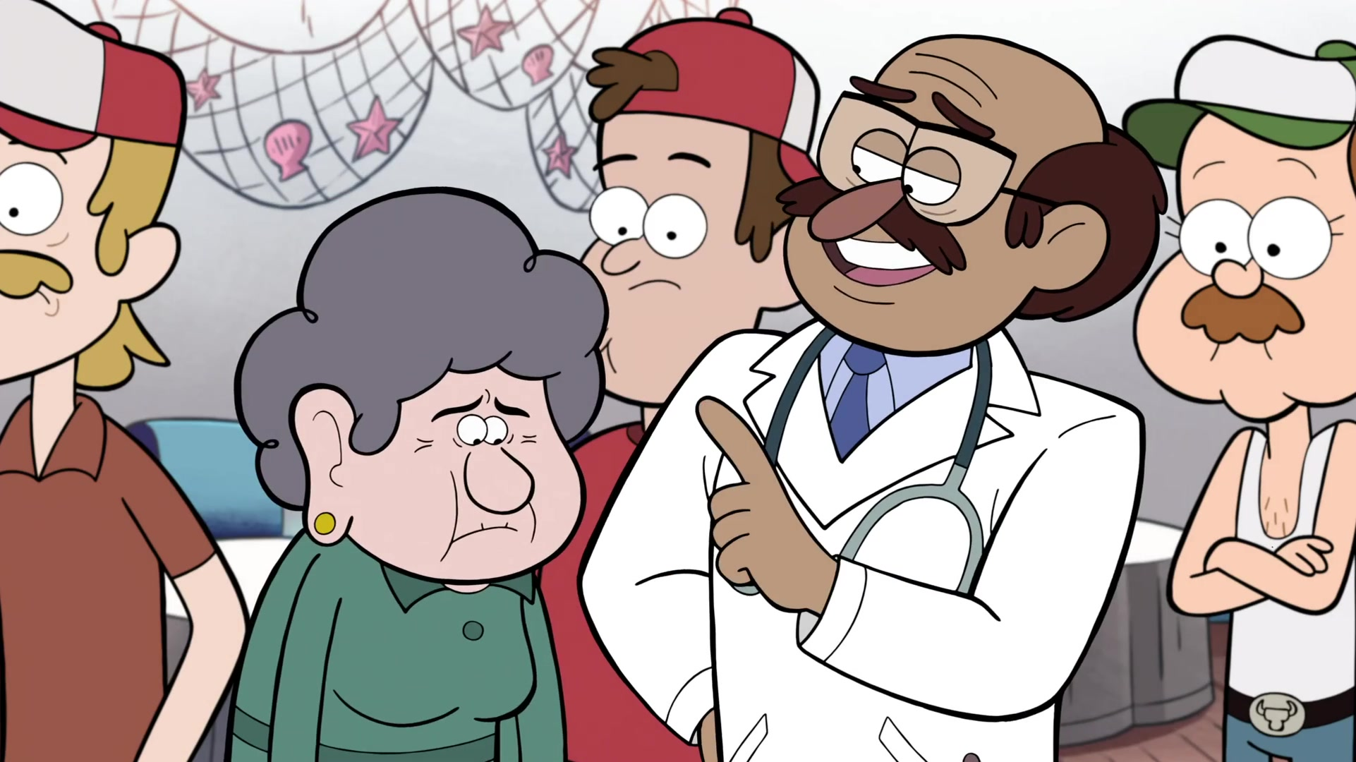 unnamed doctor gravity falls wiki fandom powered by wikia
