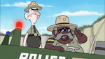 S1e2 police in boat
